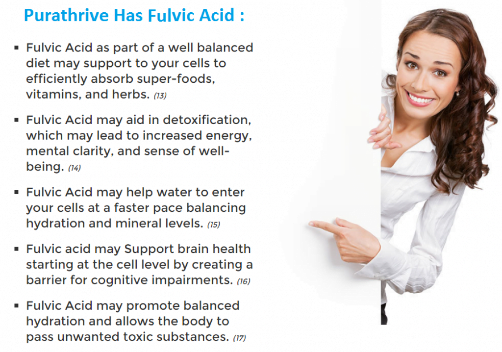 fulvic acid in purathrive